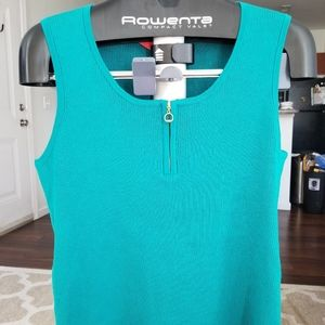 Fitted Turquoise Tank